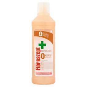 Általános tisztító- és fertőtlenítőszer, klórmentes, 1 l, FLÓRASZEPT, fa felületekhez