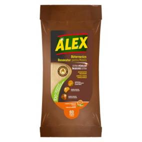 Nedves törlőkendő bútorokhoz, ALEX, 30 db [30 db]