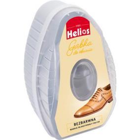 Cipőfényező szivacs, 6 ml, HELIOS, színtelen