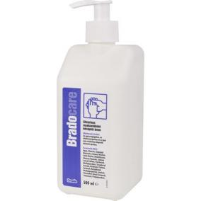 Kézápoló krém, glicerines, pumpás, 500 ml, BRADOCARE, munkavédelmi