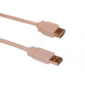 USB 2.0 hosszabbító kábel, 1,8 m, SANDBERG