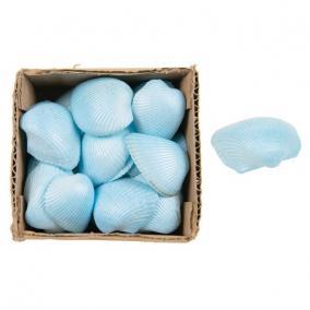 Kagyló dobozban 10x10x6cm kék