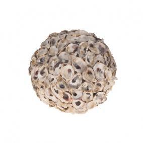 Kagyló gömb 23cm natúr