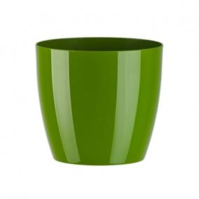 Kaspó Aga műanyag 20x18cm zöld