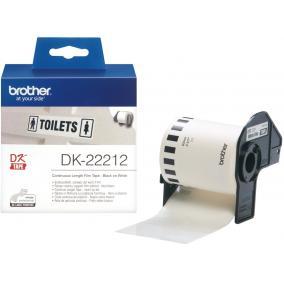Brother DK-22212 tekercs (62mm x 15,24m) filmszalag