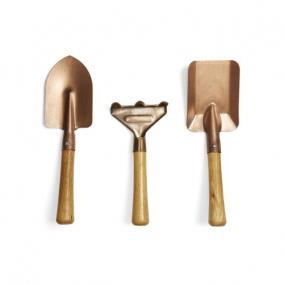 Kerti szerszámkészlet, bronz [3 db]
