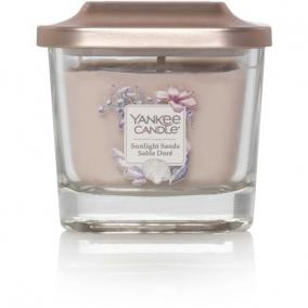 Kis illatgyertya üvegben Sunlight Sands Yankee