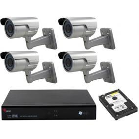 Komplett 4 kamerás SANAN rendszer prémium