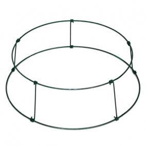 Koszorú alap fém 2/35 zöld 2,496 kg [10 db]