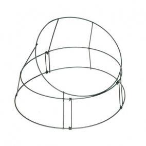 Koszorúalap fém 3/35 zöld 3,5 kg [10 db]