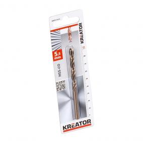 Kreator csigafúró HSS Cobalt 5,5x93mm