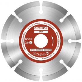 Kreator gyémánt vágótárcsa 115 mm ECO 3db KRT080100