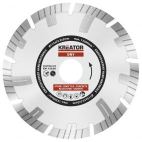 Kreator gyémánt vágótárcsa 115 mm Expert  Profi KRT084100