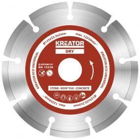 Kreator gyémánt vágótárcsa 125 mm ECO 3db KRT080101