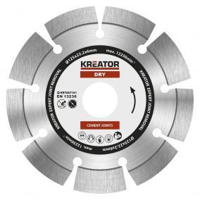 Kreator gyémánt vágótárcsa 125 mm Expert 6 mm KRT087101