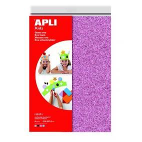 Moosgumi, 210x297 mm, A4, glitteres, APLI