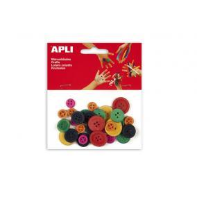 Gombok, APLI, vegyes színekben [30 db]