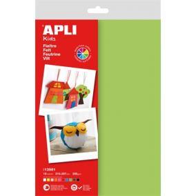 Filc anyag, APLI, vegyes színek [10 db]