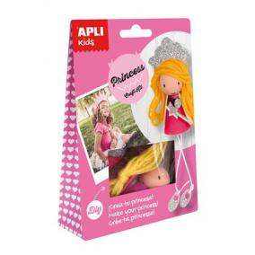 Kézműves készlet, APLI,hercegnő
