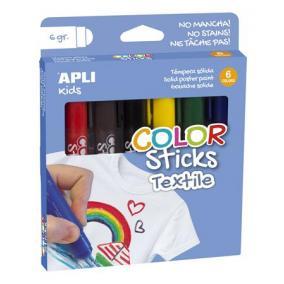 Textilfestő kréta, kitekerhető, APLI