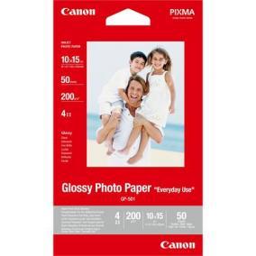 GP-501 Fotópapír, tintasugaras, 10x15 cm, 200 g, fényes, CANON [100 lap]