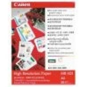 HR-101 Fotópapír, tintasugaras, A3, 106 g, matt, nagyfelbontású, 20 lapos CANON [20 lap]