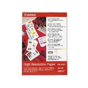 HR-101 Fotópapír, tintasugaras, A4, 106 g, matt, nagyfelbontású, 50 lapos CANON [50 lap]