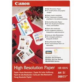 HR-101 Fotópapír, tintasugaras, A4, 106 g, matt, nagyfelbontású, 200 lapos CANON [200 lap]