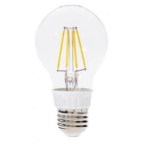 LED-A60-4W FLT E27 4W 2700K, filament retro LED izzó