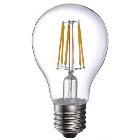 LED-A60-8W FLT E27, 2700K, filament retro LED izzó