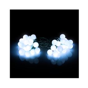 Led-es beltéri fényfüzér, nagy gömb, 40db - Retlux, RXL 282