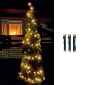 LED-es fényfüzér, 100LED, 8pr., melegfehér, kültéri kültéri