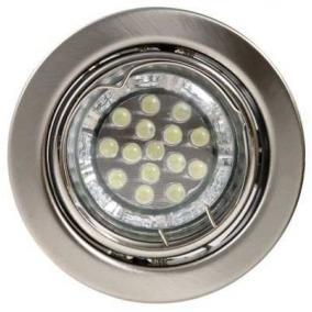 LED, GU10, 3x1,5W, Ø79mm, billenő, króm, spot lámpa szett (KIT-60A-3)