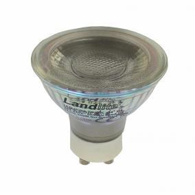 LED, GU10, 7W, 513lm, 3000K, spot fényforrás (LED-GU10-7W/GSL)