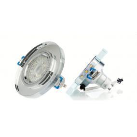 LED Kristall beépíthető lámpatest, 3.5W LED csík és adapterrel