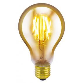 LED filament, E27, 4W, A75, 300lm, 1700K, dekor fényforrás (RUB-A75-4W/FLT)