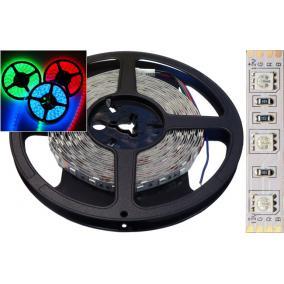 LED szalag SUNWOR 5050-60D RGB Dupla LED szalag 5 méter
