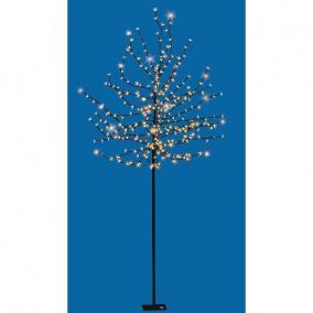 LED-es virágzó cseresznyefa dekoráció, 320 LED, 2m, kültéri