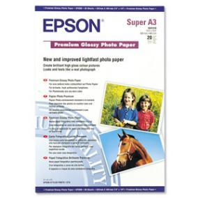 S041316 Fotópapír, tintasugaras,  A3+, 255 g, fényes, EPSON [20 lap]