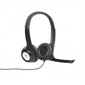 Fejhallgató, mikrofonnal, USB csatlakozás, LOGITECH