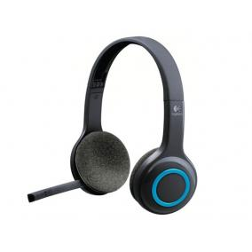 Fejhallgató, mikrofonnal, vezeték nélküli, LOGITECH