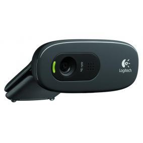 Webkamera, beépített mikrofonnal, USB, LOGITECH,