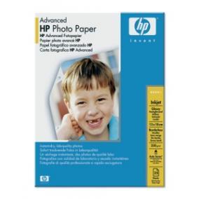 Q8696A Fotópapír, tintasugaras, 13x18, 250 g, fényes, HP [25 lap]