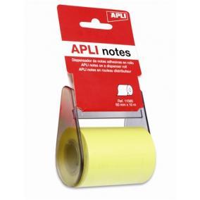 Öntapadó jegyzetpapír tekercsben, APLI, 60 mm x 10 m [10 méter]