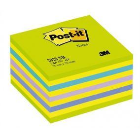 Öntapadó jegyzettömb, 76x76 mm, 450 lap, 3M POSTIT, lollipop zöld [450 lap]