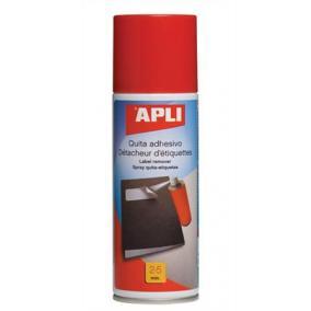 Etikett és címke eltávolító spray, 200 ml, APLI