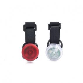 Ledes világítás biciklire, tépőzáras (2 db/szett)