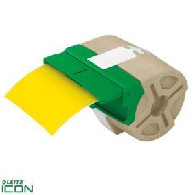 Leitz Icon folyamatos, műanyag, öntapadó, 88 mm x 10 m, sárga