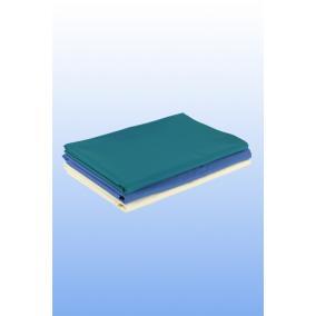 Lepedő textil kék 150x230