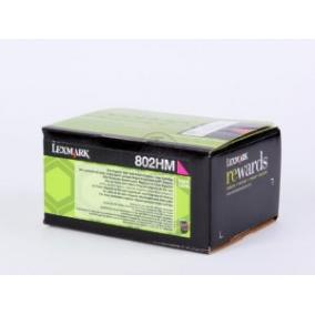 Lexmark [802HM] 80C2HM0 [M] 3K toner (eredeti, új)